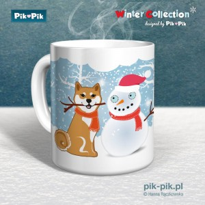 Kubek Shiba Winter Collection