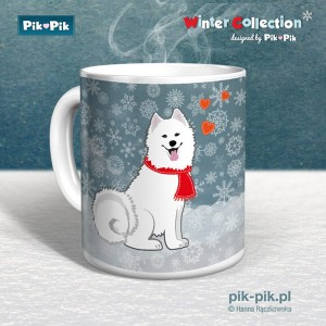 Kubek  Samoyed Winter Collection