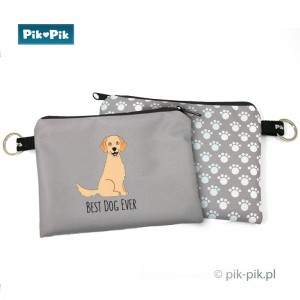 Etui na psie dokumenty Golden Retriever
