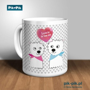 Kubek West Highland White Terrier Love Collection