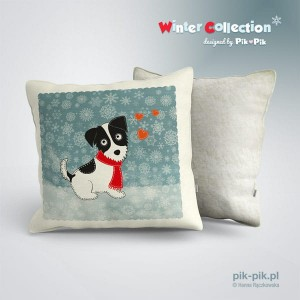 Poduszka Classic JRT winter collection