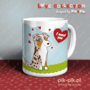 Kubek Aussie- Love collection