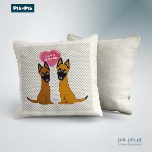 Poduszka Malinois- Love Collection