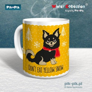 Kubek chihuahua Yellow Snow