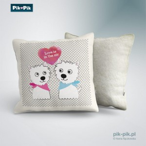 Poduszka West Highland White Terrier-Love Collection