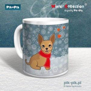 Kubek chihuahua Winter Collection (1)