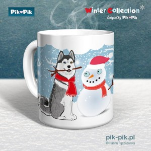 Kubek Husky Winter Collection