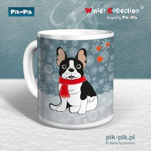 Kubek French Bulldog Winter Collection (1)