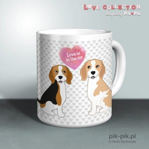 Kubek Beagle Love Collection