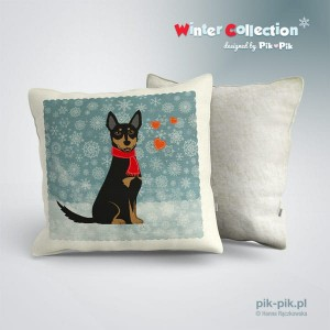 Poduszka Kelpie-Winter Collection (1)