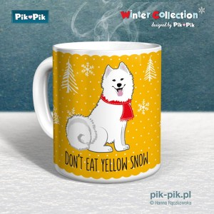Kubek  Samoyed Yellow Snow