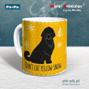 Kubek  Nowofunland Yellow snow