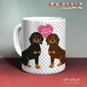 Kubek Gończy Polski Love Collection