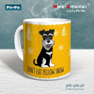 Kubek Sznaucer Yellow Snow