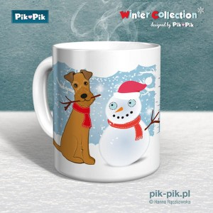 Kubek IrishTerrier Winter Collection