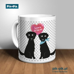 Kubek Flat Coated Retriever  Love Collection