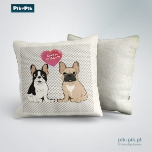 Poduszka French Bulldog Love Collection