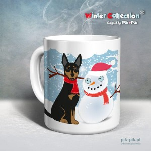 Kubek Kelpie Winter Collection