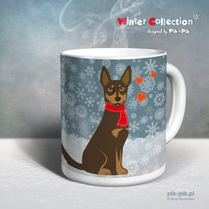 Kubek Kelpie Winter Collection (1)