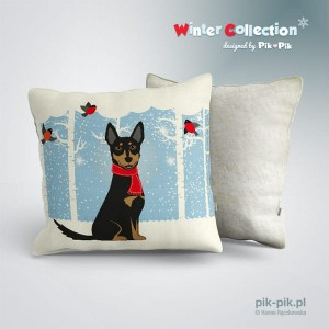 Poduszka Kelpie-Winter Collection