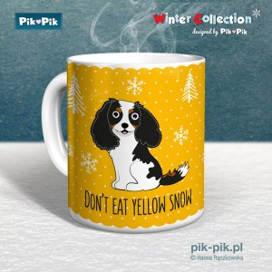 Kubek Cavalier Yellow Snow