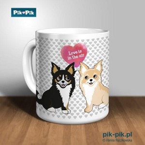 Kubek chihuahua Love Collection