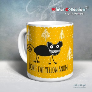 Kubek Don't eat yellow snow