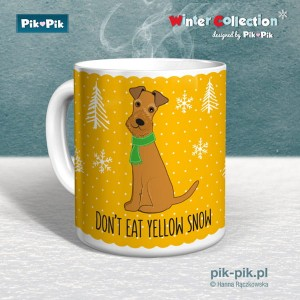 Kubek IrishTerrier Yellow Snow