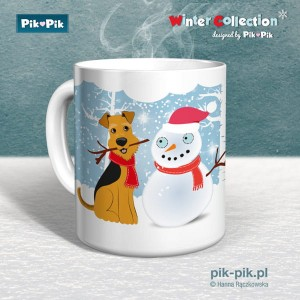Kubek Welsh Terrier Winter Collection