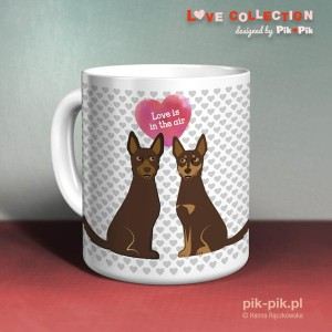 Kubek Kelpie Love Collection