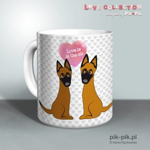 Kubek  Malinois Love Collection