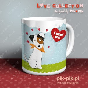 Kubek PRT love collection