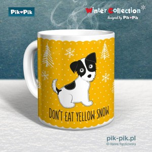Kubek JRT Yellow Snow