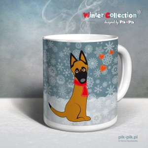 Kubek  Malinois Winter Collection