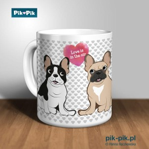 Kubek French Bulldog Love Collection